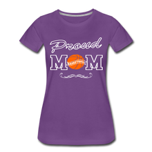 Proud Basketball Mom - purple