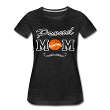Proud Basketball Mom - charcoal gray