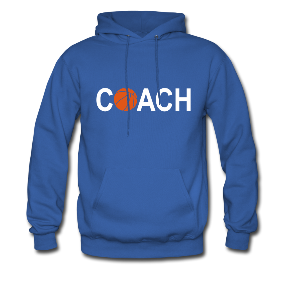 BASKETBALL COACH - royal blue