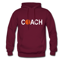 BASKETBALL COACH - burgundy