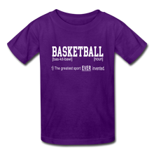 Basketball Definition - purple