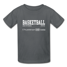 Basketball Definition - charcoal