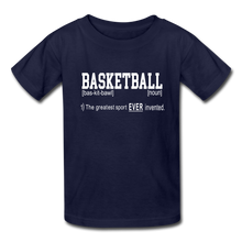 Basketball Definition - navy