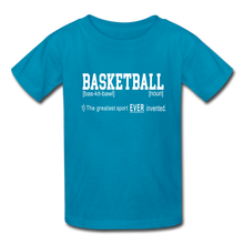 Basketball Definition - turquoise