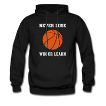 NEVER LOSE-WIN OR LEARN - black