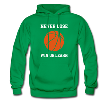 NEVER LOSE-WIN OR LEARN - kelly green