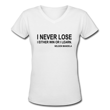 Never Lose-Mandela - white