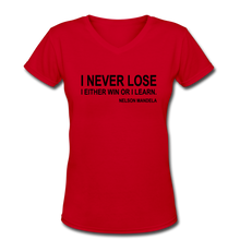 Never Lose-Mandela - red