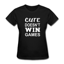 Cute Doesn't Win Games - black