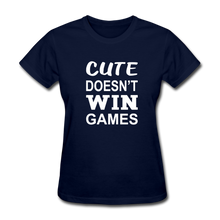 Cute Doesn't Win Games - navy