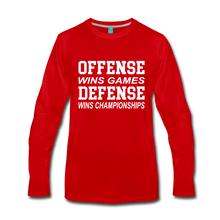Offense vs. Defense - red