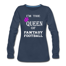 Queen of Fantasy Football - navy