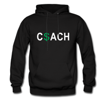 Money Coach with green dollar sign - black