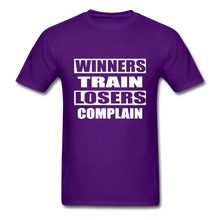Winners Train-Losers Complain - purple