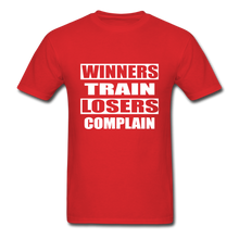 Winners Train-Losers Complain - red
