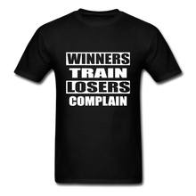 Winners Train-Losers Complain - black