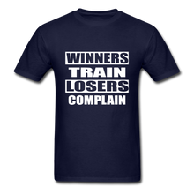 Winners Train-Losers Complain - navy