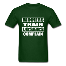 Winners Train-Losers Complain - forest green