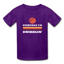 Everyday I'm Dribblin (kids) - purple