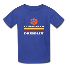 Everyday I'm Dribblin (kids) - royal blue