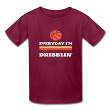 Everyday I'm Dribblin (kids) - burgundy