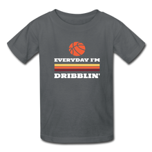 Everyday I'm Dribblin (kids) - charcoal