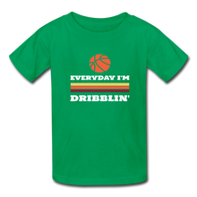 Everyday I'm Dribblin (kids) - kelly green