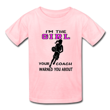 "I'm the ""GIRL"" t-shirt - pink"