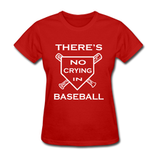 There's no crying in baseball - red