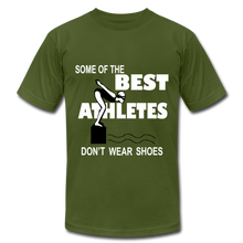 The BEST ATHLETES don't wear shoes - olive