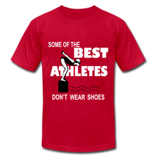 The BEST ATHLETES don't wear shoes - red