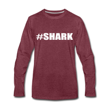 #SHARK - heather burgundy