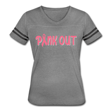 Pink Out Football Jersey 2 - heather gray/charcoal