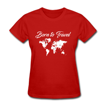 Born to Travel - red