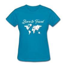Born to Travel - turquoise