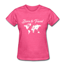 Born to Travel - heather pink