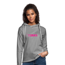 TOBBS Unisex Lightweight Terry Hoodie - heather gray