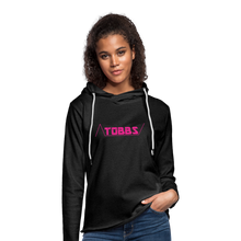 TOBBS Unisex Lightweight Terry Hoodie - charcoal gray