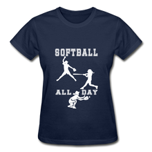 Softball All Day - navy