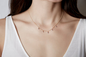 Dangling Diamond Necklace