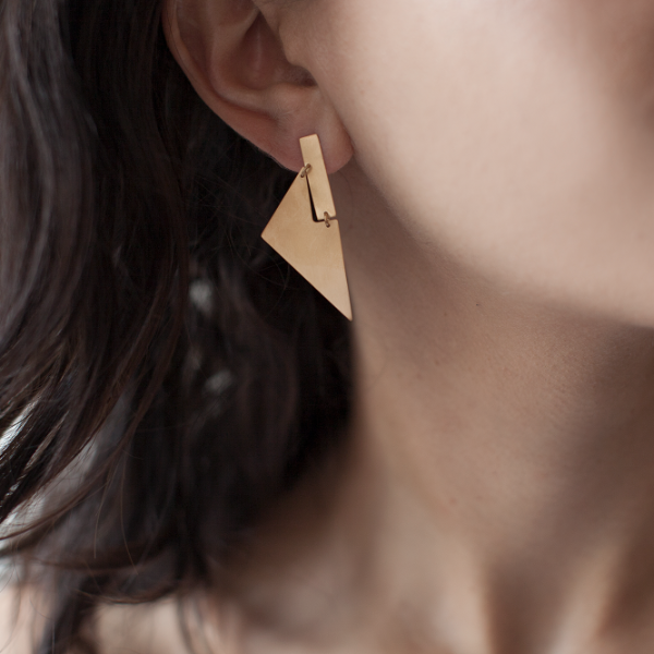 Arku Earrings Matte