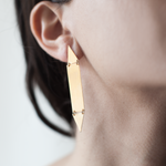 Ulku Earrings (Matte)
