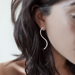 Orm Earrings Silver