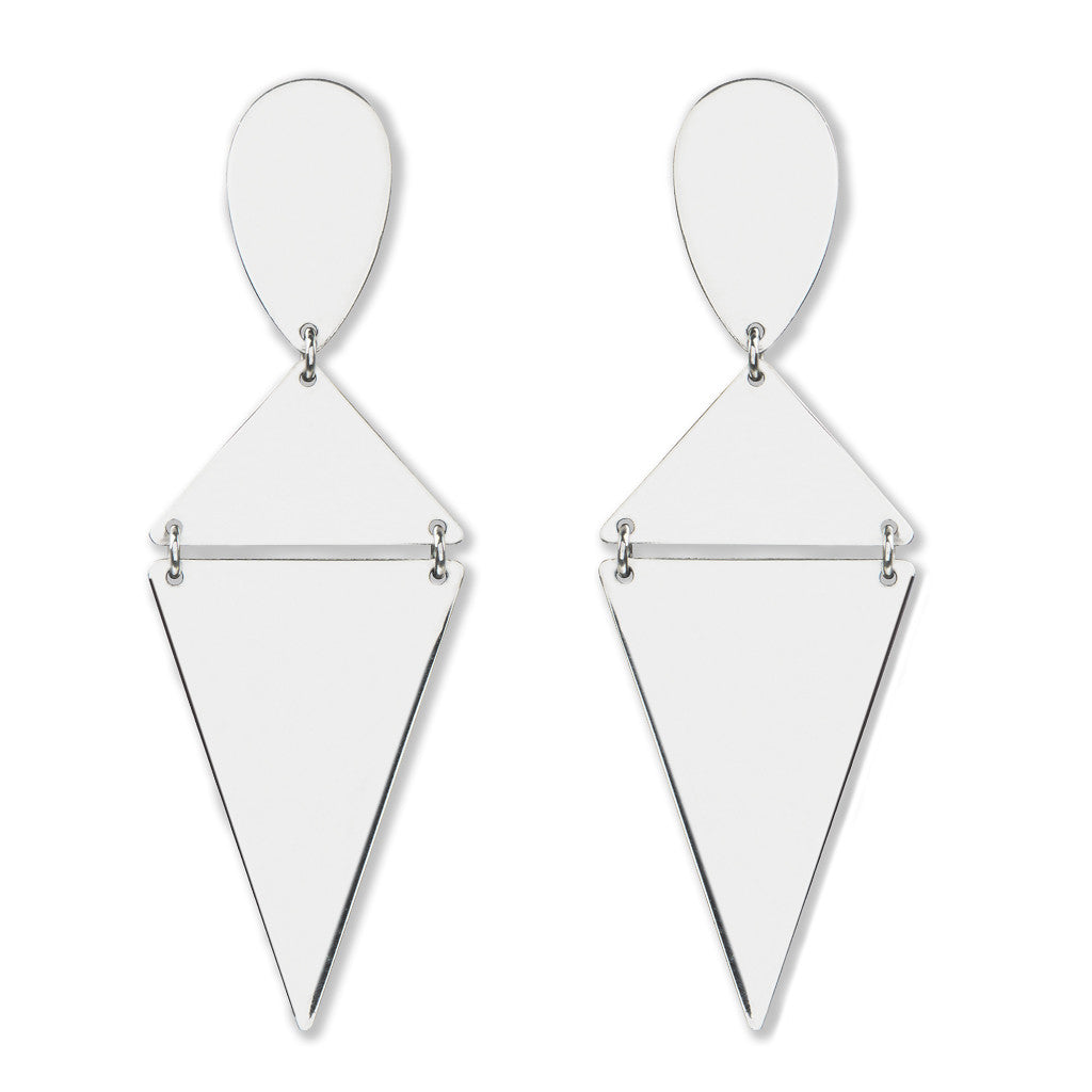 Arwan Earrings Silver