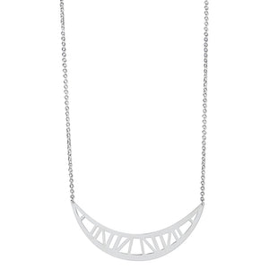 Coppe Necklace Silver