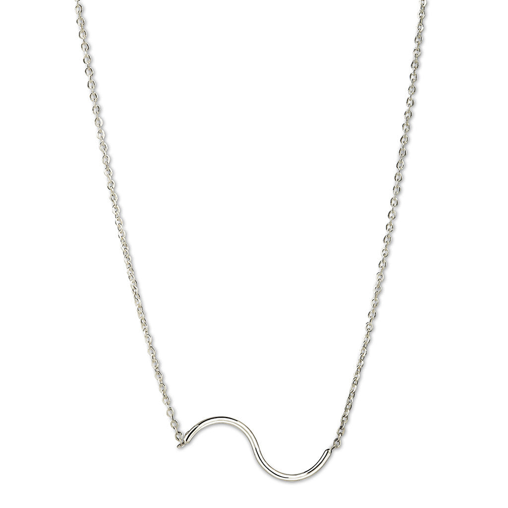 Mini Cobra Necklace Silver