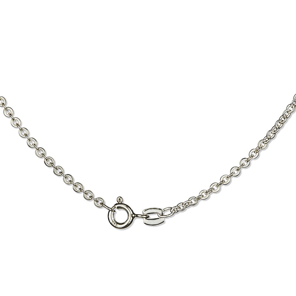 Girl Necklace Silver