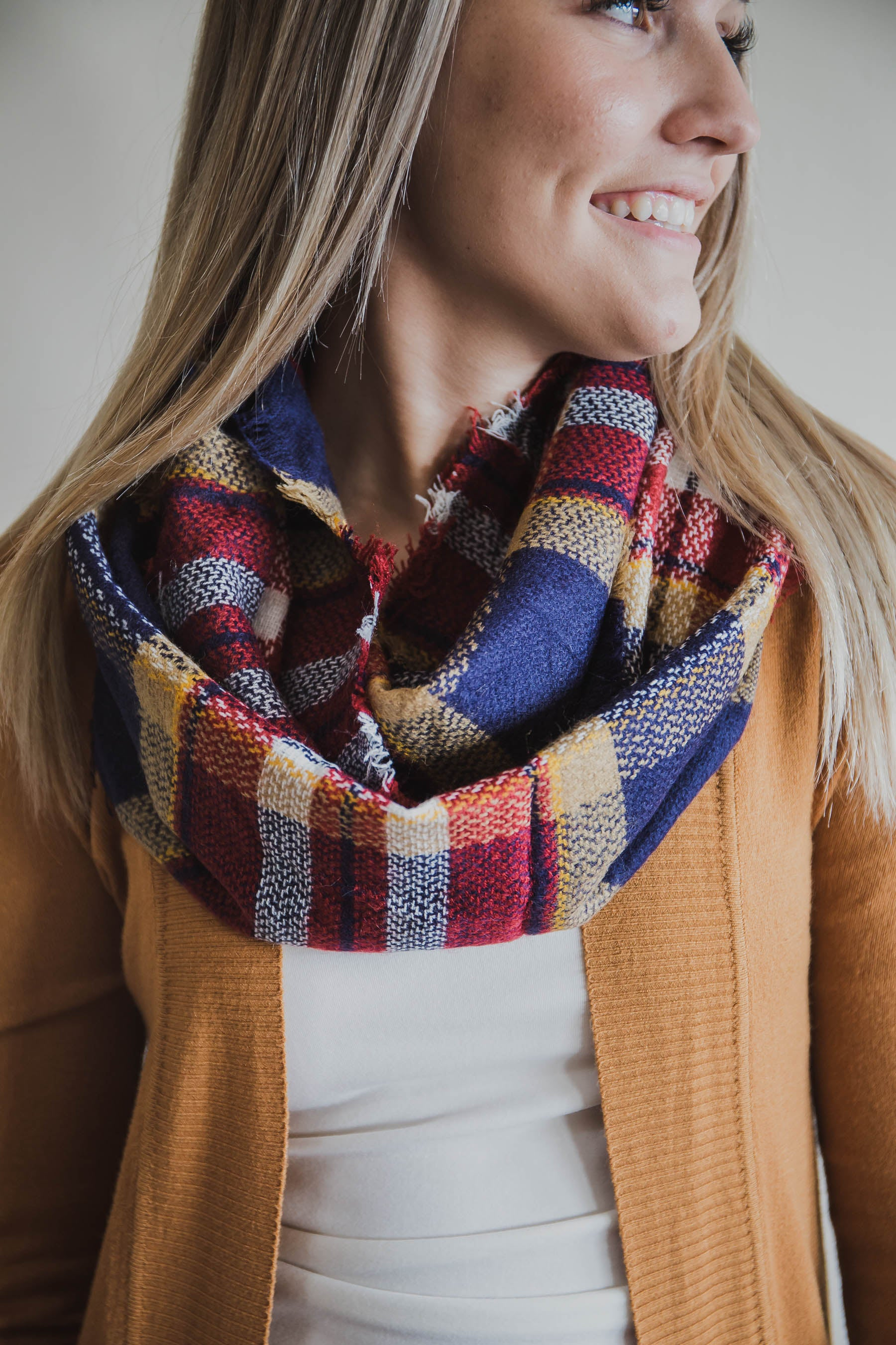 Beverly Knit Infinity Scarf