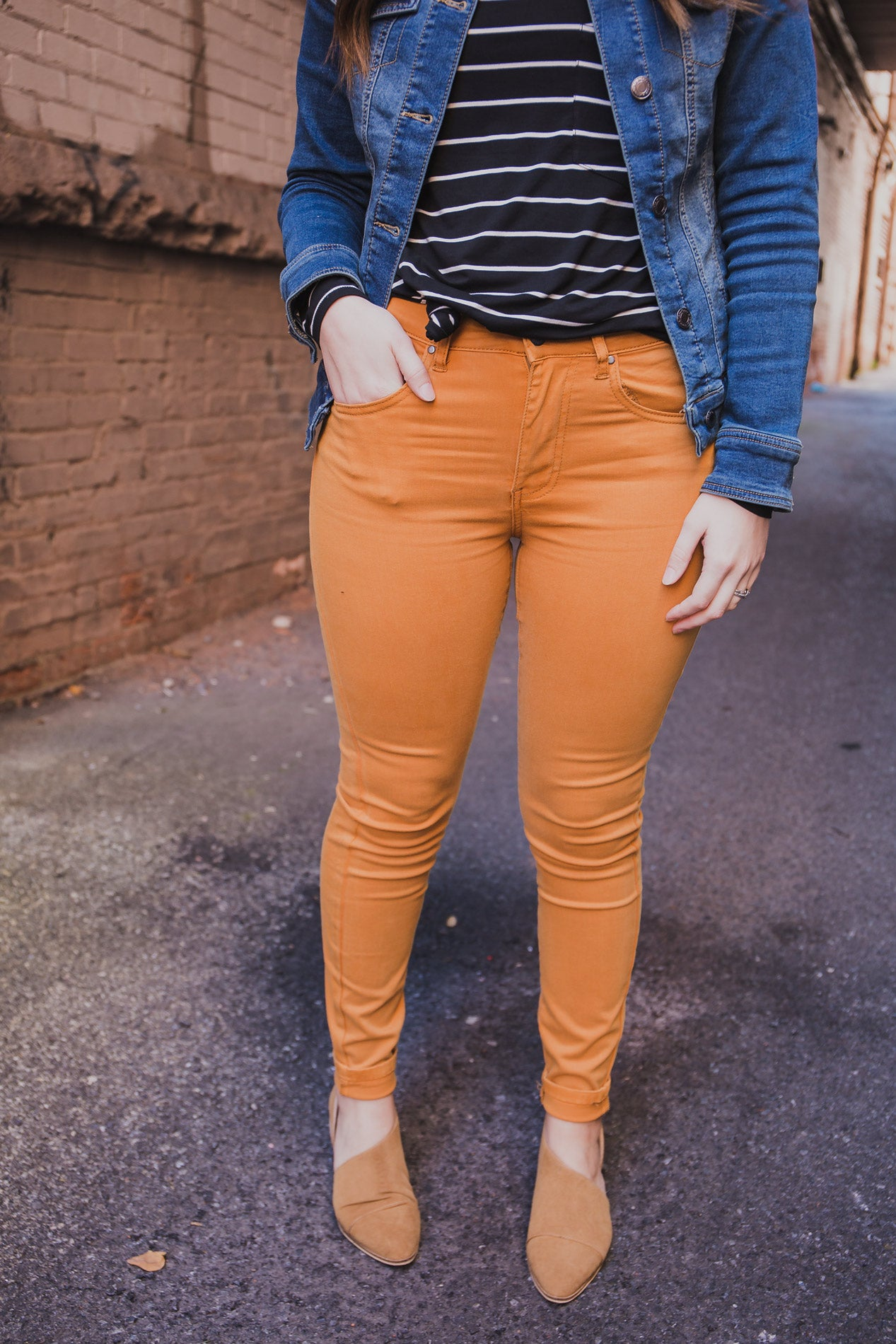 Colored Jeggings - Grace and Lace (FINAL SALE)