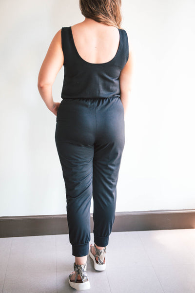 Georgia Drawstring Jumpsuit (FINAL SALE)
